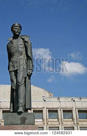 St. Petersburg, Russia - July 18, 2009: Monument To Felix Dzerzhinsky On Shpalernaya Street