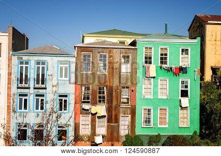 Colorful Valparaiso House
