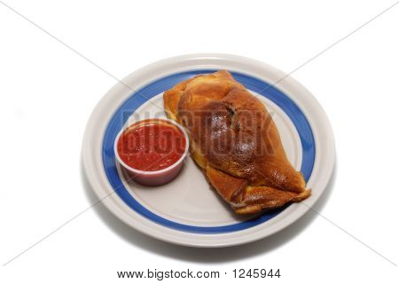 Calzone With Sauce