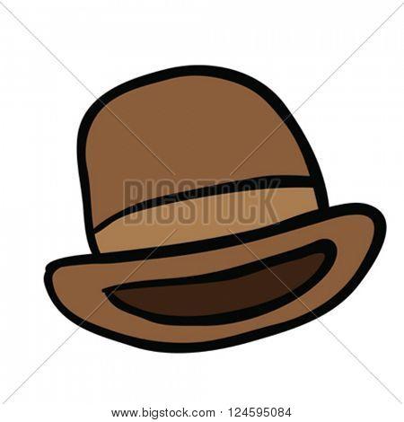 bowler hat cartoon