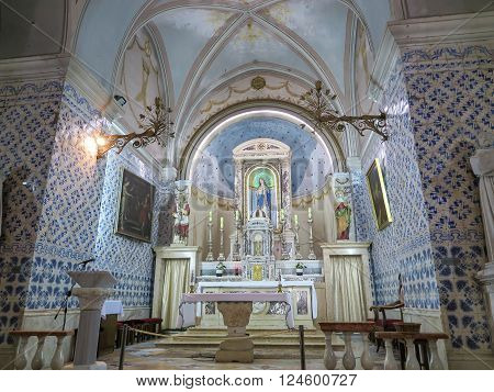 Ein Karem Israel July 16 2015 r .: Church. John the Baptist the forerunner of Jesus Christ the traditional residence of St. Elizabeth and Zechariah and the birthplace of John the Baptist. Ein Karem Israel