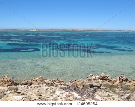 eagle bluff lookout, shark bay, western australia
