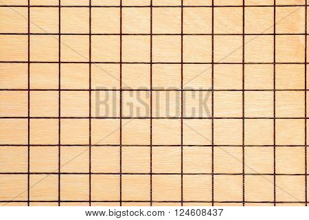Lined yellow wooden board texture or background