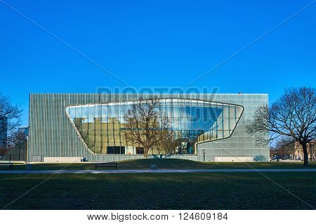 Museum of the History of Polish Jews POLIN, Warsaw, Poland