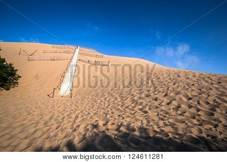 Dune du Pyla - the largest sand dune in Europe Aquitaine France