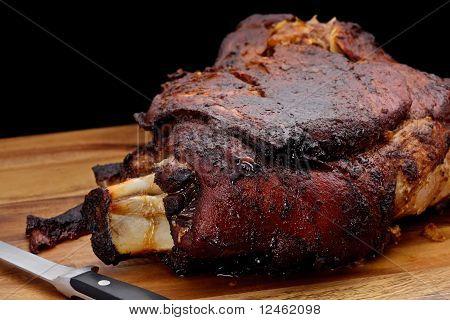 Gebratenes Schweinefleisch Schulter