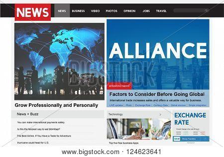 Alliance Teamwork Partnership Connection Community Concept
