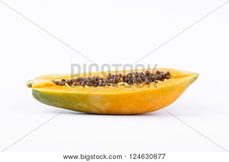Half of Ripe papaya ( fruit for health)