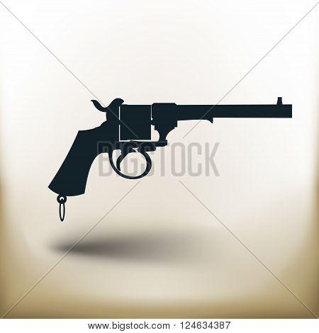Pictogram Old Revolver