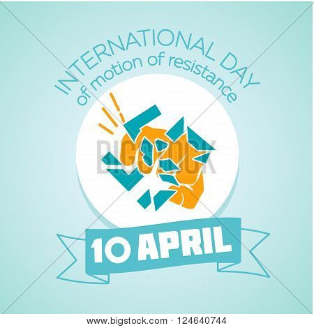 Calendar for each day on April 10. Holiday - International day