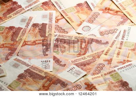 5000 rubles background