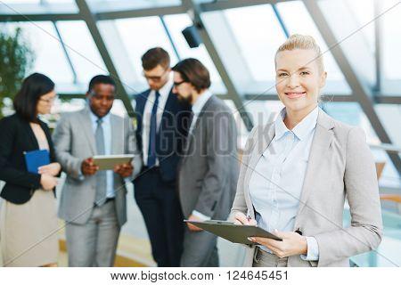 Successful secretary