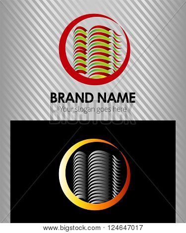 Hotel logo Building office company icon, logo isolated