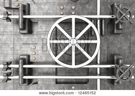 Puerta abovedada