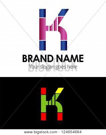 Letter K Letter K vector design template