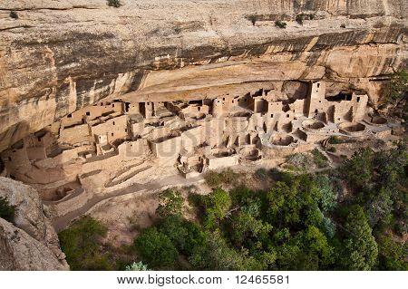 Cliff Palace en el Parque Nacional Mesa Verde, Colorado