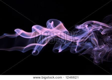 Abstract Purple Smoke - Smoke Backdrop
