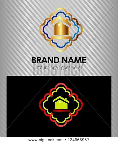 Real estate icon Real estate icon vector design template