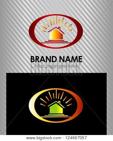 Real estate logo template  vector design template