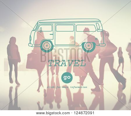 Travel Destination Exploration Holiday Trip Concept