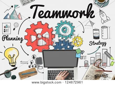 Team Teamwork Support Unity Togetherness Concept
