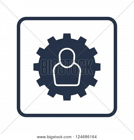 User Settings Icon In Vector Format. Premium Quality User Settings Icon. Web Graphic User Settings I
