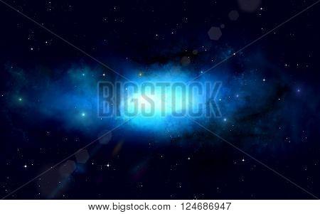 Dark Deep Space