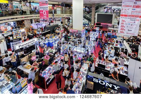 Bangkok Thailand - March 16 2016: Zoom Camera Fair 2016 Event for the Trade and User 14-22 March in Bangkok Thailand.