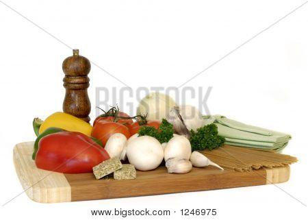 Pasta Ingredients, Vegetables