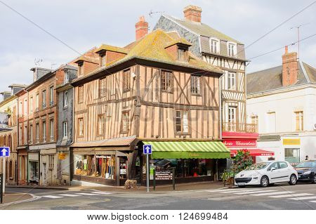 Half-timbered Houses, Orbec