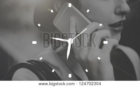 Time Minute Alarm Duration Hour Schedule Concept