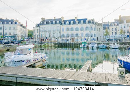 The Port Of Vannes