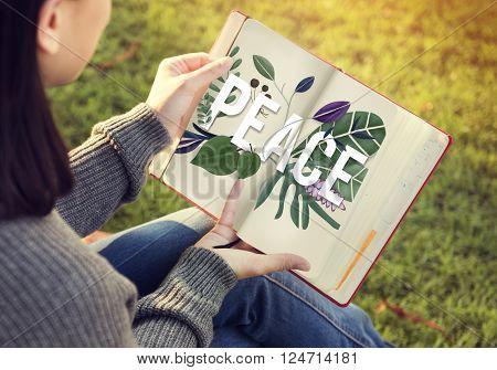Peace Calm Free Nonviolence Privacy Solitude Zen Concept