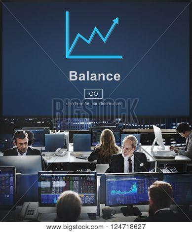 Business Growth Balance Concept