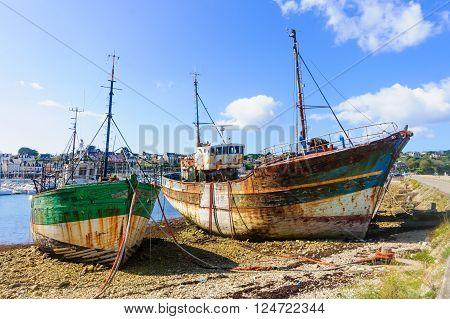 Shipwrecks In Camaret-sur-mer