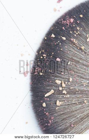 Lens Blur Makeup Brush Whit Blusher Crak
