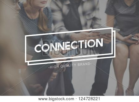 Connection Social Media Networking Contact Interconnection Concept