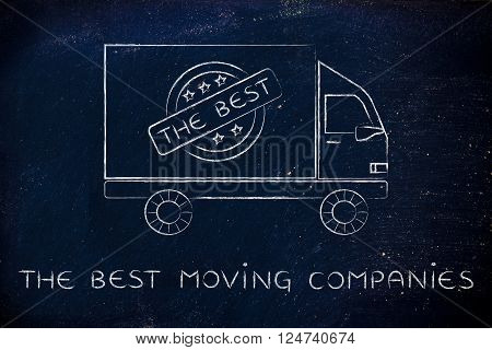 the best moving companies; house traveling on moving company truck funny metaphor