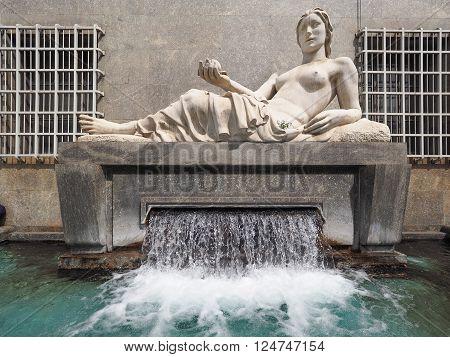 Dora Statue In Turin
