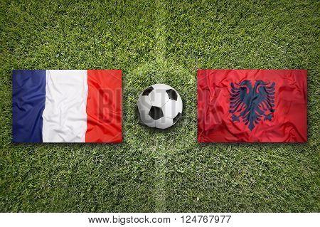 France Vs. Albania, Group A