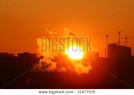 morning warming emissions