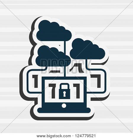 technology icon design, vector illustration eps10 graphic