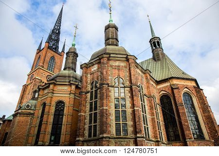 Riddarholm Church, the burial church of the Swedish monarchs - Stockholm, Sweden