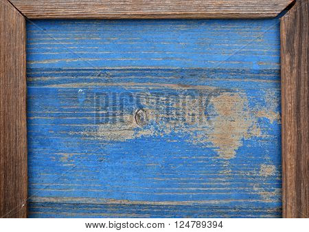 old blue and gray wooden plank background and texture