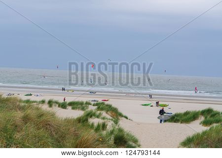 BROUWERSDAM ZEELAND NETHERLANDS - JUNE 13 2015: