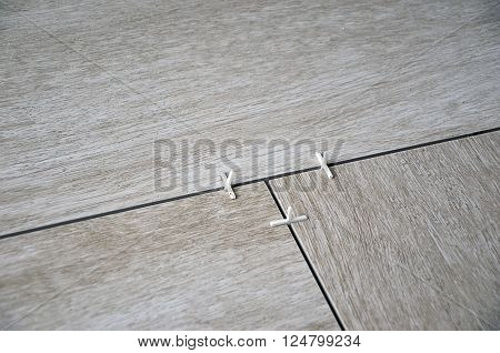 floor tiling laying of paving detail photography