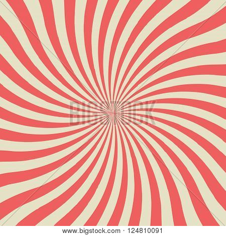 Twist vintage background. vector illustration for use as background