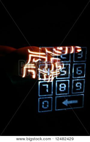 enter secret code