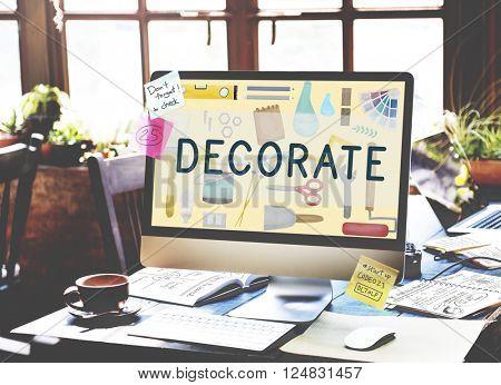Decorate Bright Contemporary Creative Modern Concept