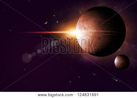 Dreamy Space Background